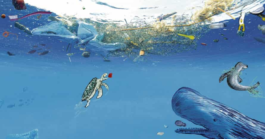 Neal Layton's A Planet Full of Plastic: one of the year's many timely books.