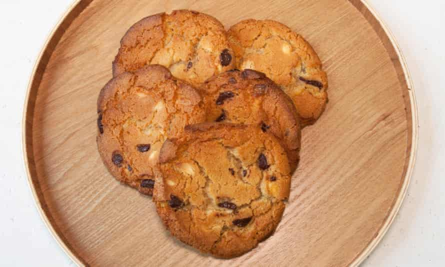 'Crunchy, chewy chocolate loveliness': chocolate chip cookies.