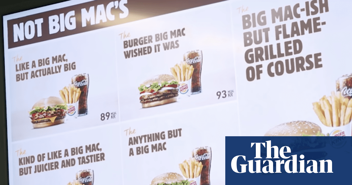 'Like a Big Mac But Juicier': Burger King renames sandwiches to troll McDonald's