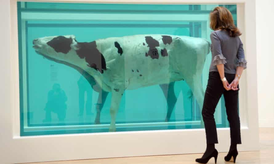 Damien Hirst's Mother and Child, Divided at the Tate's Turner Prize Retrospective
