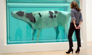 Part of Damien Hirst's Mother and Child (Divided).