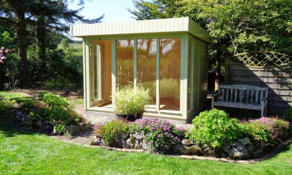 Shed Quarters How To Set Up An Office, Garden Shed Design Uk