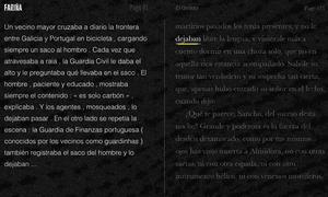 A screengrab of the Finding Fariña website