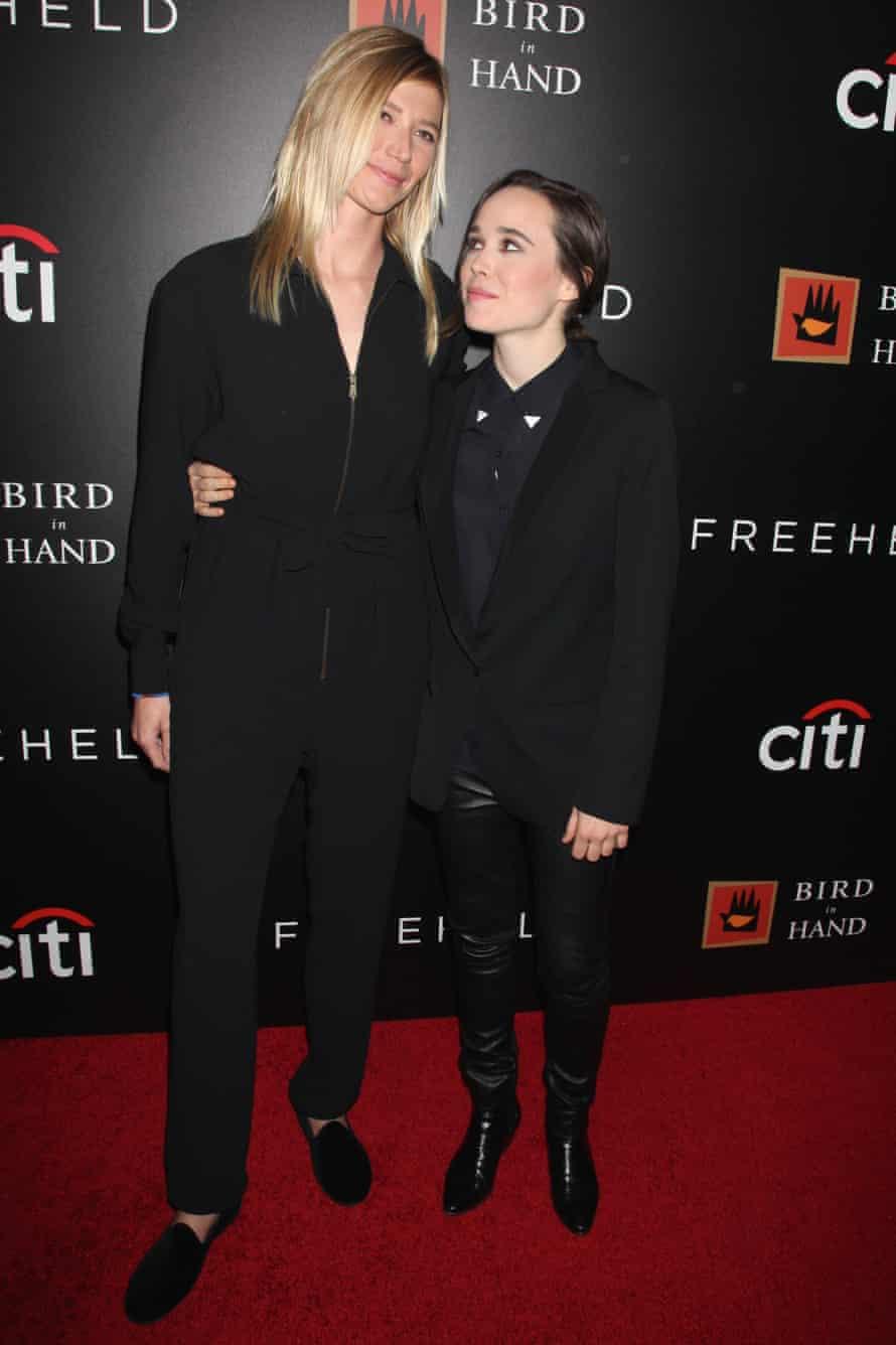 Ellen Page with girlfriend Samantha Thomas