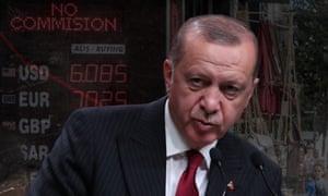 Turkish pesident Recep Tayyip Erdoğan