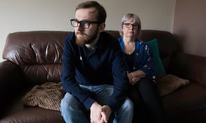 Jack Sargeant, son of Carl Sargeant, pictured with his mother Bernie,