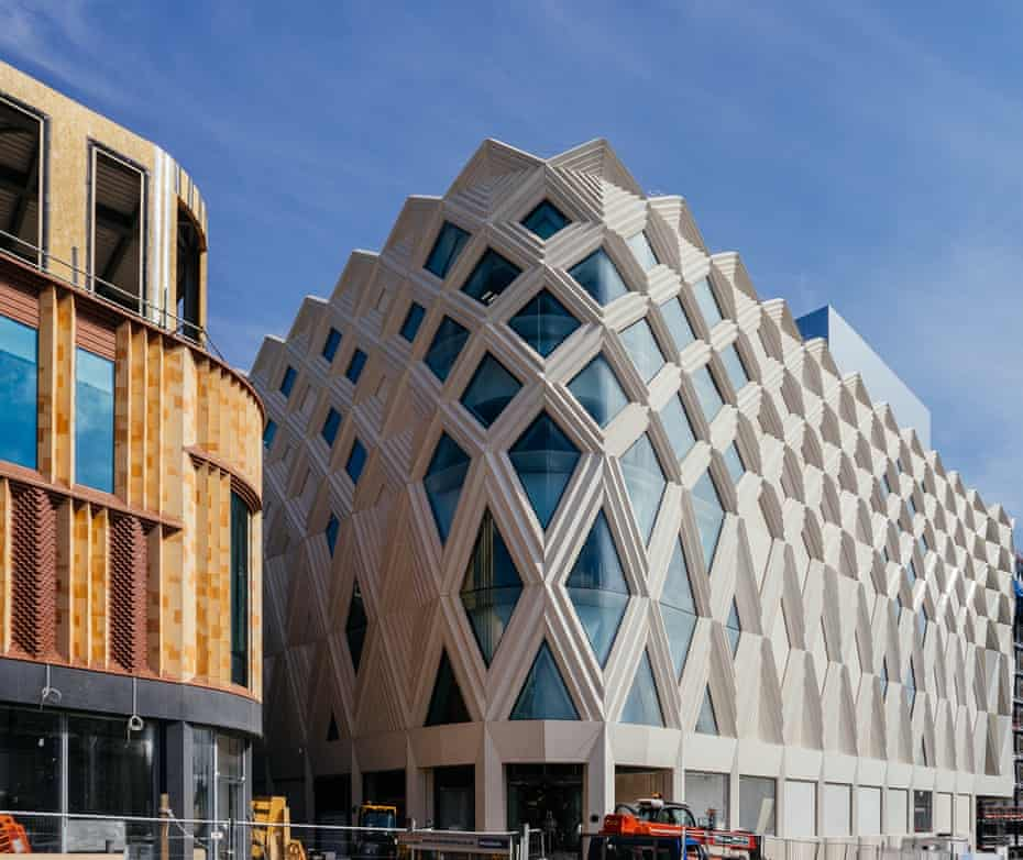 The Victoria Gate mall in Magbate was built to house a huge new John Lewis shop