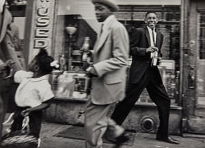 William Klein  Horsing around with Pepsi, Harlem, New York, 1955   Est $3,000 - 5,000