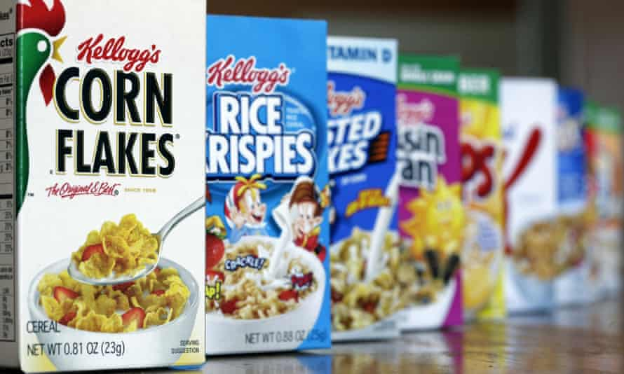 Kellogg was contacted by customers who saw ads for Frosted Flakes and Frosted Mini-Wheats on Breitbart.