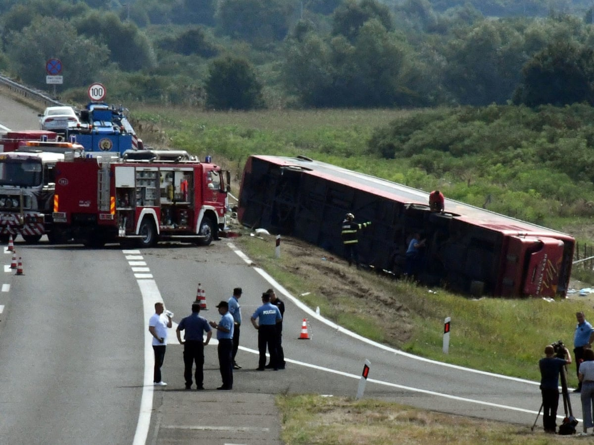 At Least 10 People Dead, 44 Injured in Bus Crash in Croatia After Driver Fell Asleep
