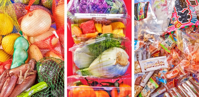 Plastic wrapped in plastic: the wasteful reality of