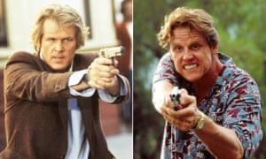 Nick Nolte (left) and Gary Busey.