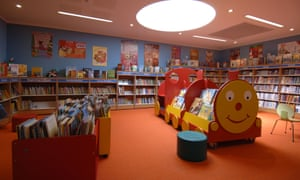 A children's library in Hampshire.