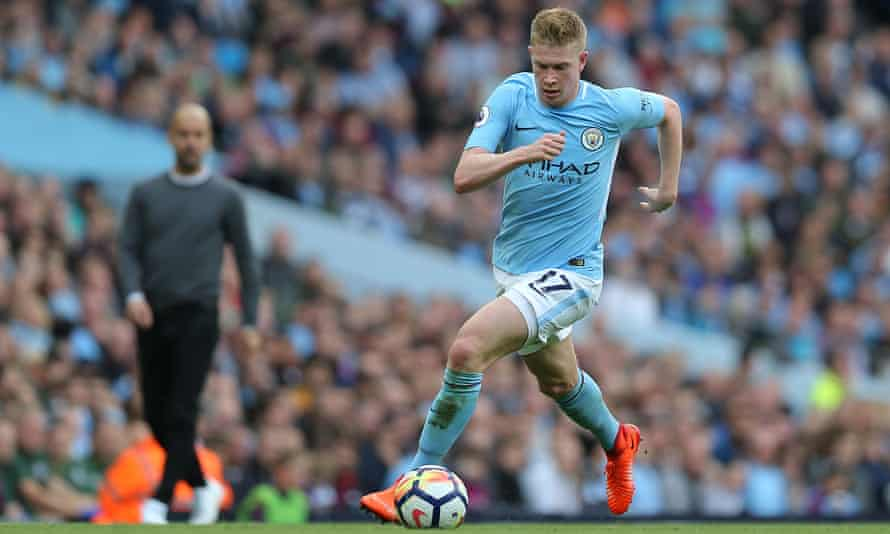 The artist, also known as Kevin De Bruyne.