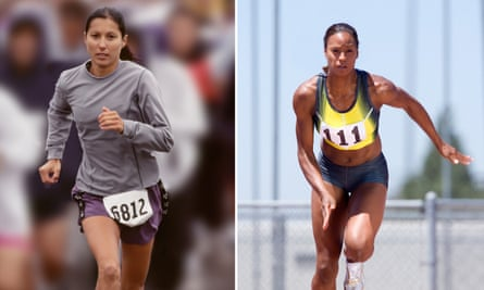 From long-distance running to sprinting … is ability down to DNA or effort – or both.