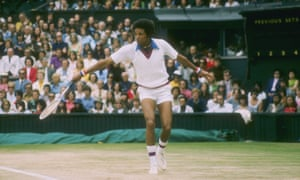 Arthur Ashe's win against Jimmy Connors in 1975 was described as a 'tactical masterpiece'.