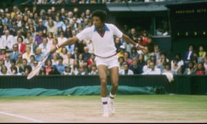 """1970sIn 1975, Arthur Ashe became the first black male to win the Wimbledon singles champion. His 70s short-shorts would have felt right at home on the spring/summer 2019 catwalks. His mastery of eyewear has been called """"absolute and inimitable"""" by Esquire, which also described him as """"an original Sportswear Style God with a lean frame seemingly hand-built to rock crisp Fred Perry and Lacoste polos, high white socks and satin sheen tracksuit tops""""."""