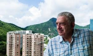 Richard Margolis, a former UK diplomat who negotiated the terms of Hong Kong's handover to China.