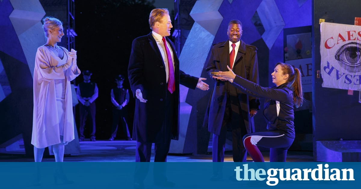 Forget Julius Caesar – Trump is more like Richard III, Shakespeare's satanic joker