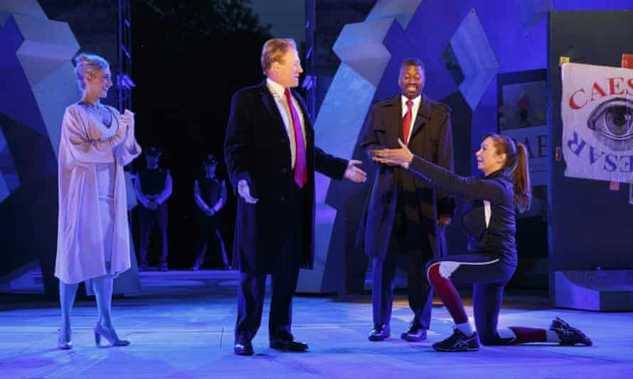 The Public Theater's Shakespeare in the Park production of Julius Caesar in New York.