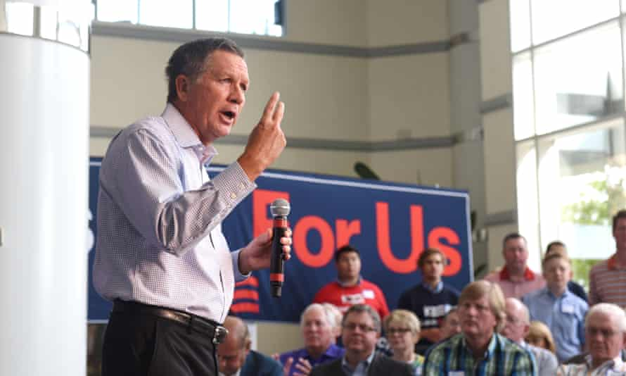 John Kasich pointing out how many seconds it took for him to decide the Roots was 'offensive drivel'