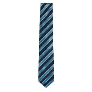 Blue strip tie from hugo boss