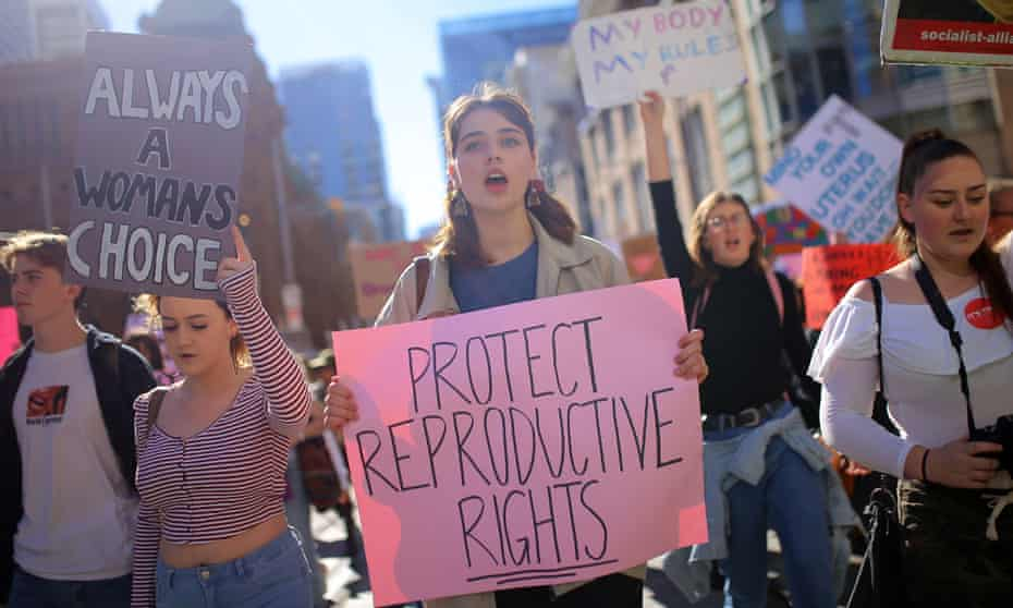 NSW is set to decriminalise abortion with a private member's bill backed by a cross-party group. Protesters at the Our Body Our Choice march in Sydney in June