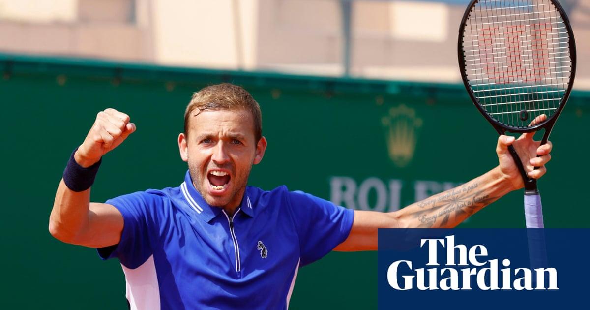 Dan Evans follows up Djokovic win by reaching semi-finals in Monte Carlo
