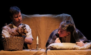 Still image from a production of The Man Who Planted Trees at Edinburgh's Scottish Storytelling Centre. UK