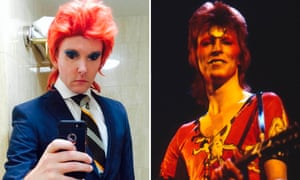 Professor Will Brooker, and David Bowie as Ziggy Stardust