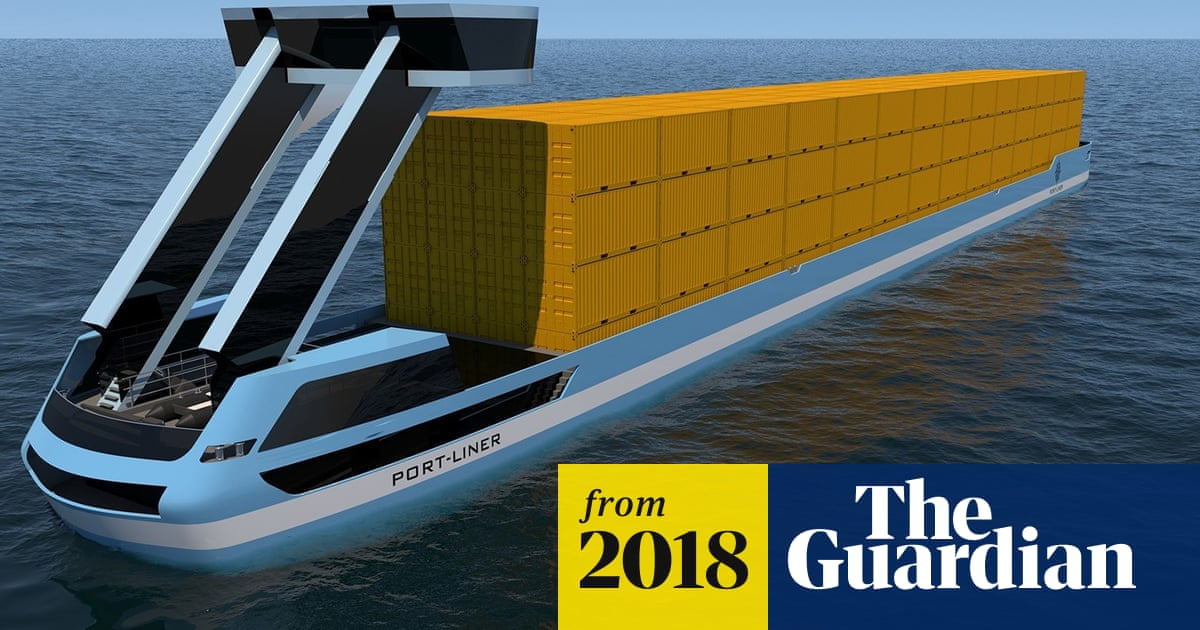 World's first electric container barges to sail from