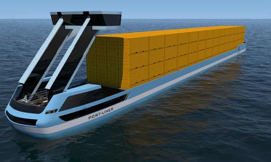 Dutch manufacturer, Port Liner, has developed the world's first emission-free barges.