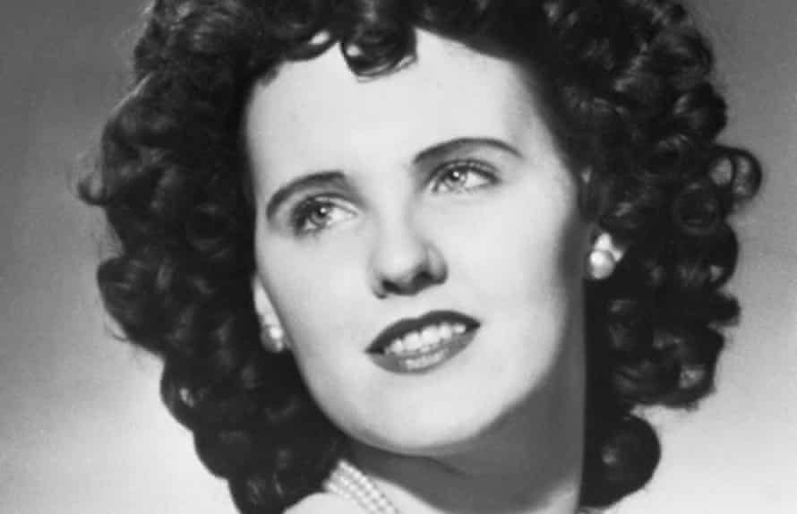 Elizabeth Short, who was killed in 1947 in what became known as the Black Dahlia murder.