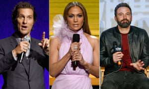 Matthew McConaughey, Jennifer Lopez and Ben Affleck. There's been an uptick in non-fiction articles being adapted for film and television.