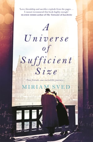Book cover of A Universe of Sufficient Size by Miriam Sved. Bookmark This books column April 5 2019