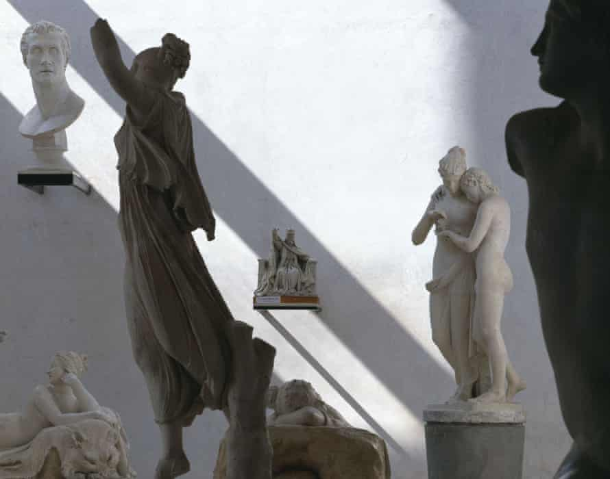 sculptures by Antonio Canova.