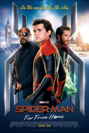 An earlier Spider-Man: Far From Home poster