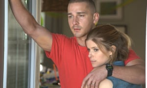 Unsolved mystery … Shia LaBeouf and Kate Mara in Man Down