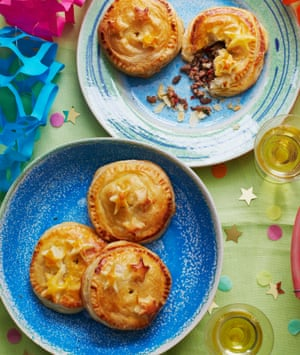 Vanessa Bolosier's pâtés salés créoles (or Creole meat pies): at Christmas, the filling is always pork; the rest of the year, saltfish and beef feature, too.