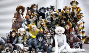 Cats people ... fans of the show dress up for London Comic-Con.