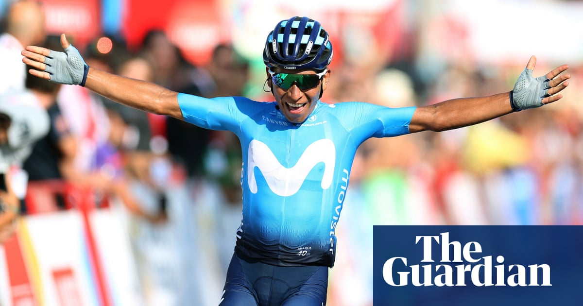 Nairo Quintana wins Vuelta second stage as Roche takes leaders jersey