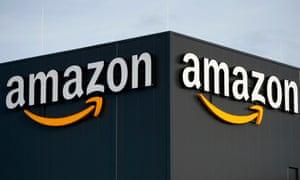 An Amazon distribution center.