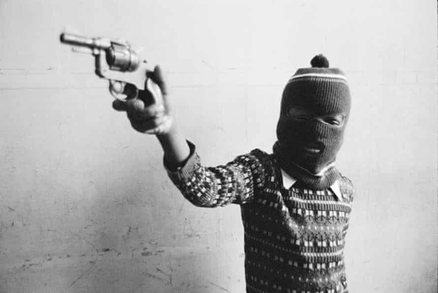 'It feels prophetic' … the shot Morris took in the Black House in 1969.