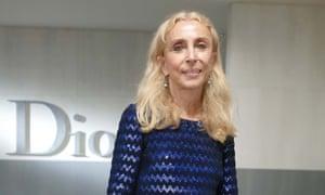 Franca Sozzani at the Paris fashion week in September.