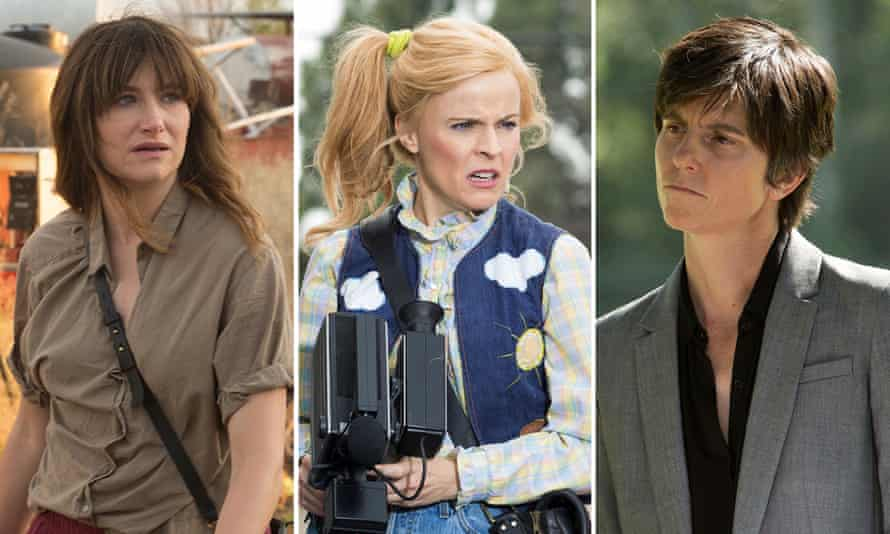 Kathryn Hahn in I Love Dick, Maria Bamford in Lady Dynamite and Tig Notaro in One Mississippi