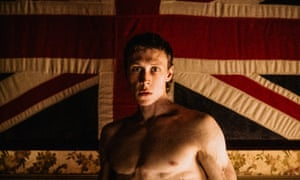 George MacKay as Ned Kelly in The True History of the Kelly Gang.