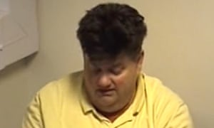 Carl Beech, pictured in a video grab issued by the Crown Prosecution Service, denies 12 counts of perverting the course of justice and one of fraud.