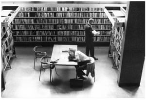 Library users, September 1973.GNM archive ref: OBS/6/9/2/1/L Box 2