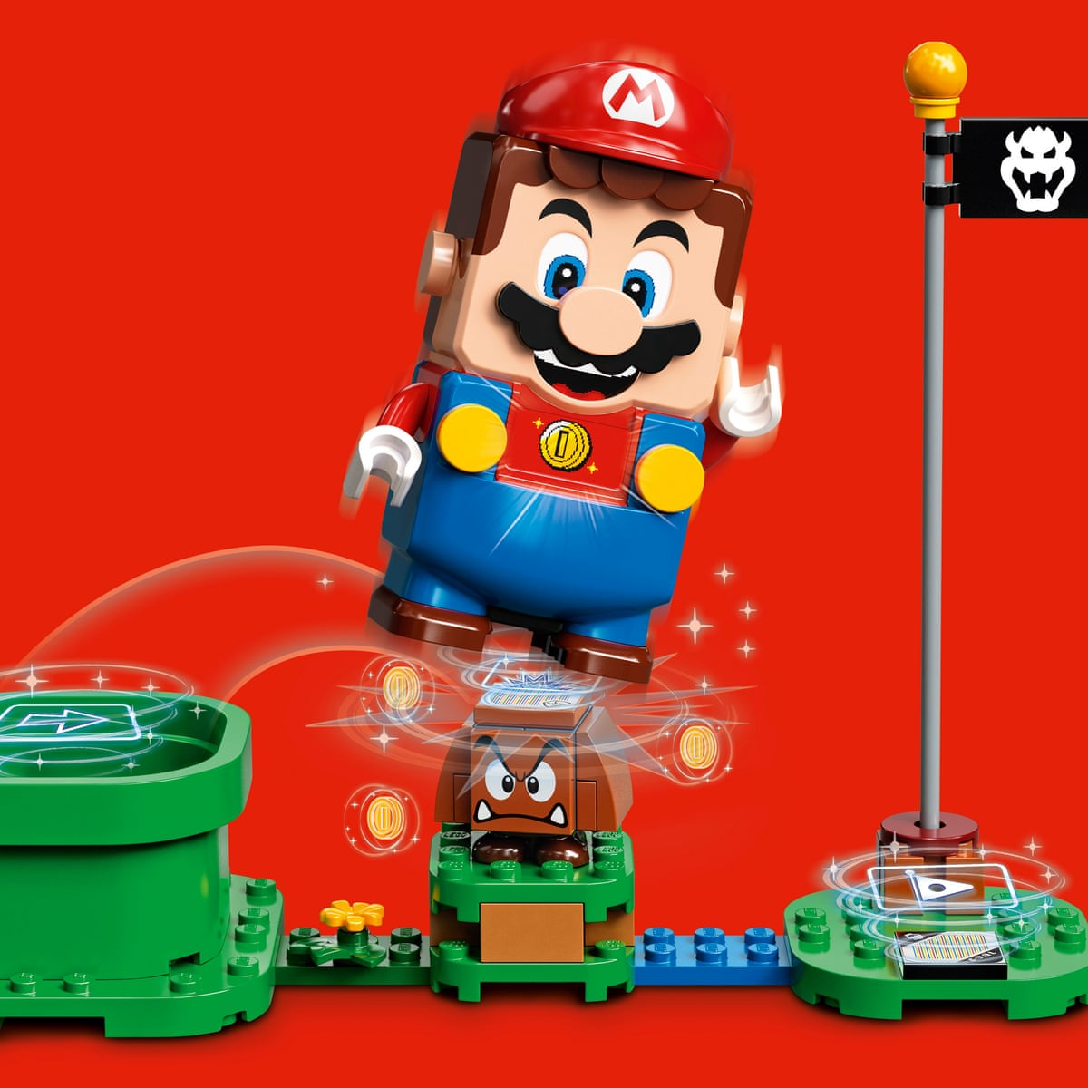 Bricks And Clicks Lego Super Mario Product Line To Hit Shelves This Year Games The Guardian