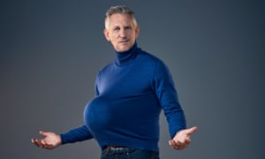 'I find cooking cathartic': Gary Lineker.